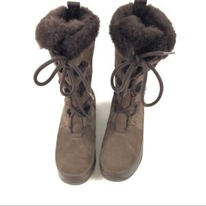 The North Face Women's Brown Boots 7.5